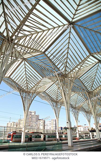 Orient Station, Built by Calatrava, Lisbon, Portugal