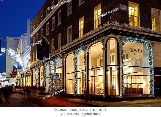 The Asprey Store In New Bond Street, London, England
