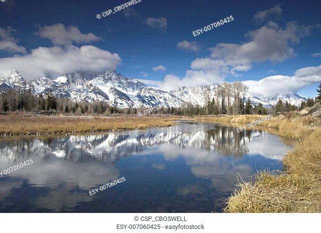 Snake River Teton\'s NP
