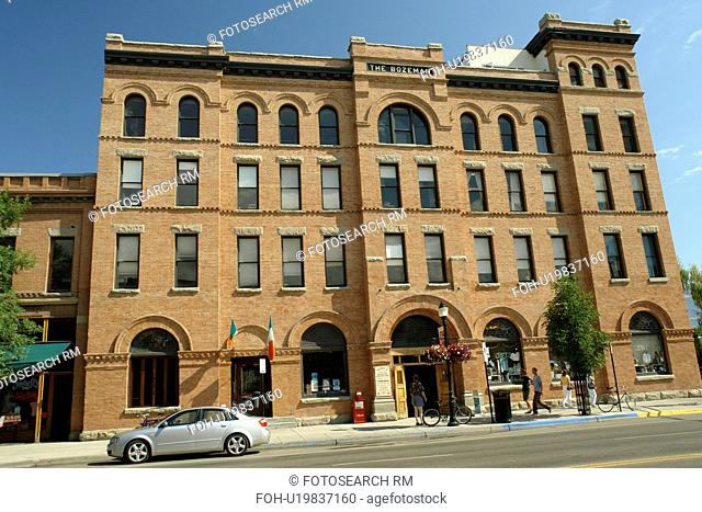 Bozeman, MT, Montana, downtown, The Bozeman