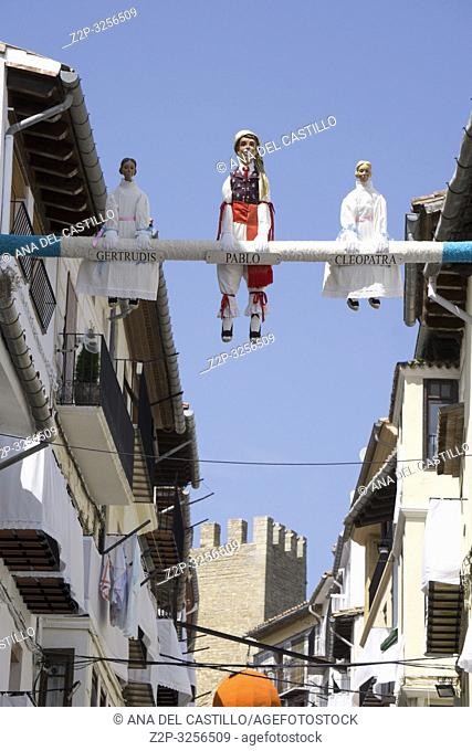 Morella, Spain. The Sexenni is one of the oldest festivals in Spain, was celebrated for the first time in 1678, after establishing the council a sexennial...