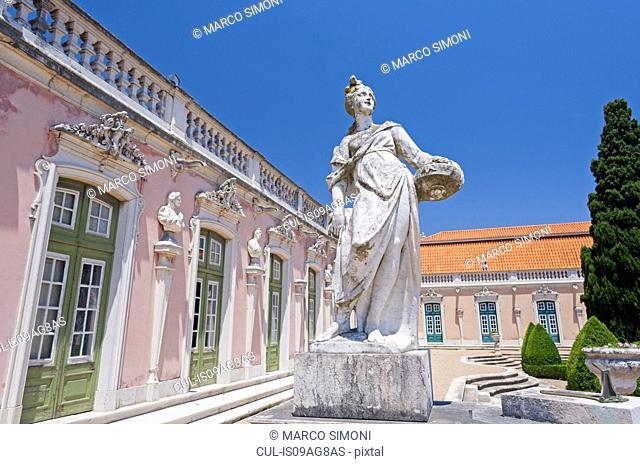 Queluz Palace, Queluz, Lisbon, Portugal