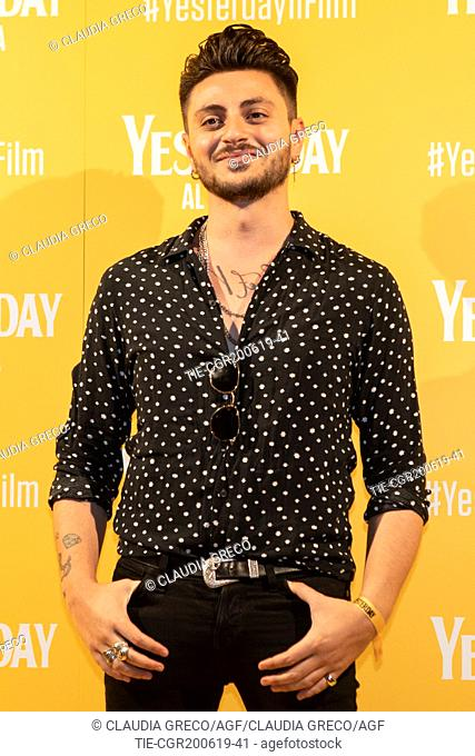 Virginio Simonelli during the photocall of film ' Yesterday ' in Milan, ITALY-20-06-2019