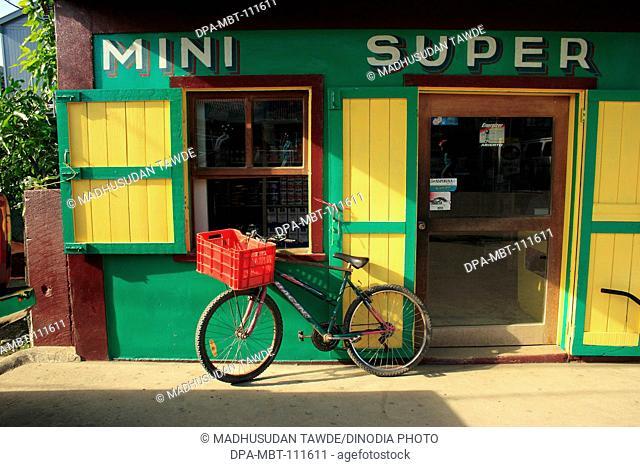 Bicycle ; Roatan island ; country Honduras