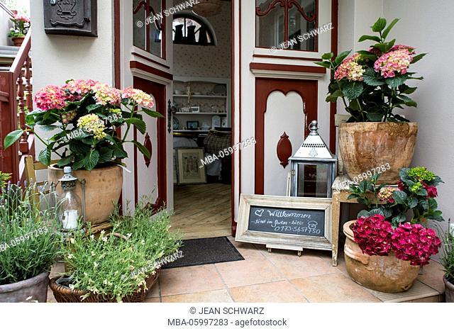 Entry / Boutique-Hotel 'Weißt Du noch..', Kühlungsborn