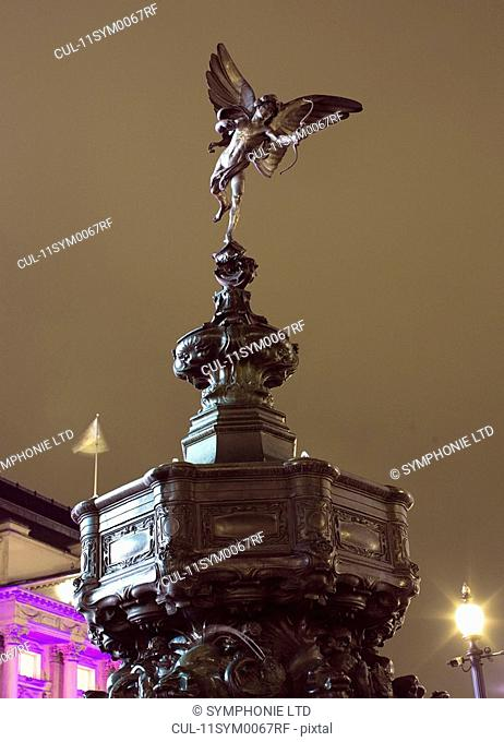 Eros Statue, Piccadilly, London