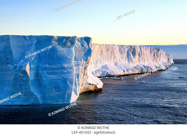 Tabular Iceberg, Weddell Sea, Antarctic Sound, Antarctica