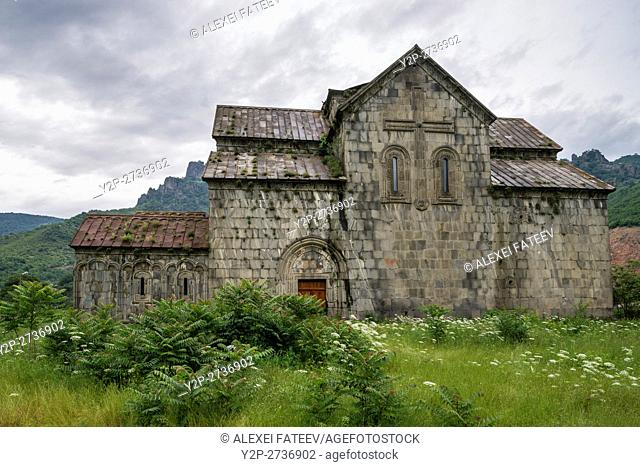 Surp Astvatsatsin church at Akhtala monastery in Armenia