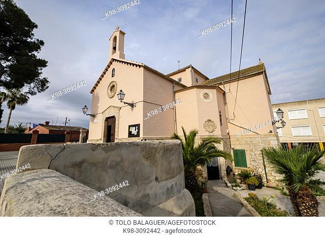 iglesia parroquial de Sant Roc, Son Roca, Palma, Mallorca, balearic islands, Spain