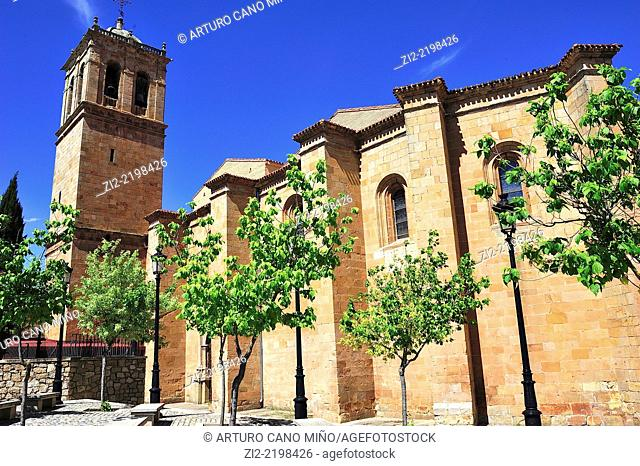 Co-Cathedral of San Pedro, XII-XVIth centuries, Soria, Spain