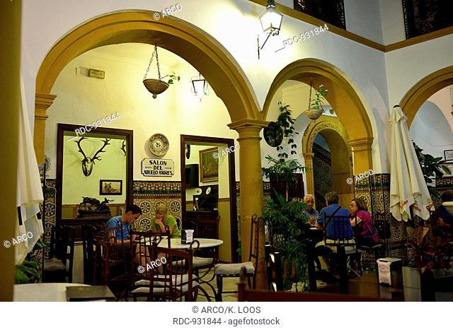 Taberna Los Deanes, Juderia (historically quarter of the Jews), Cordoba, Andalusia, Spain