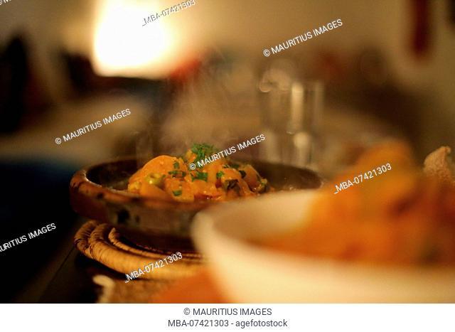 Morocco, Essaouira, food, typical dish