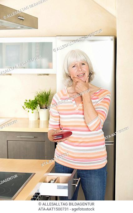 Forgetful elderly lady