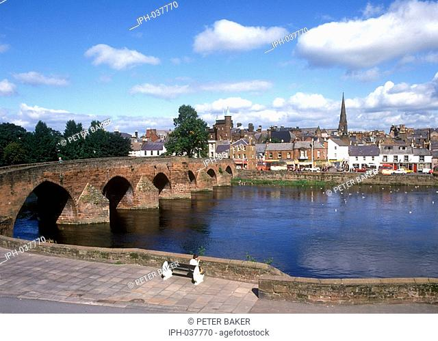Dumfries - Bridge over the River Nith