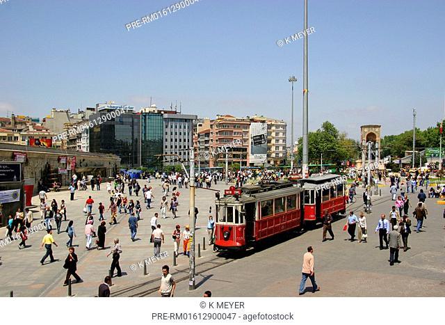 Taksim Square, Beyoglu, Istanbul, Turkey