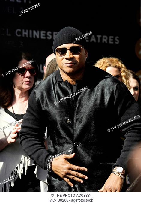 LL Cool J recieves star on Hollywood Walk Of Fame on January 21st, 2016 in Hollywood, California