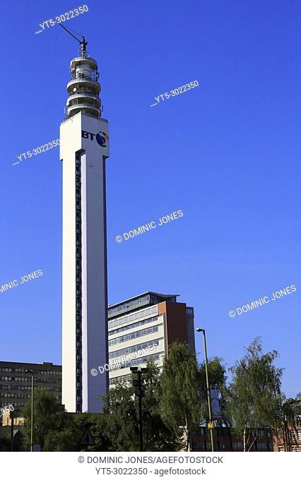 The BT Tower, Birmingham, England, Europe