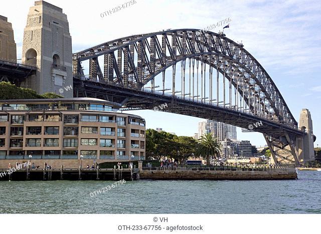 The Harbour Bridge, Sydney, Australia