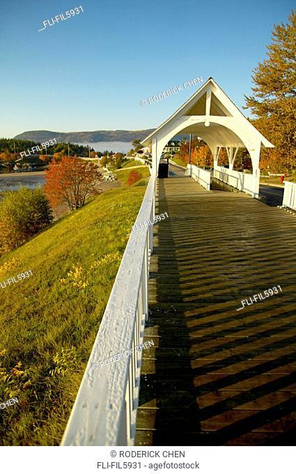 Covered Bridge, Charlevoix Region, Tadoussac, Quebec