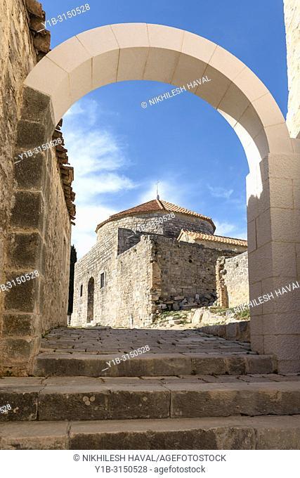 St. Vid Church, Klis Fortress near Split, Croatia