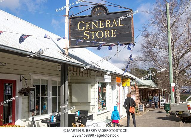 Berrima village in the Southern Highlands of New South Wales Australia