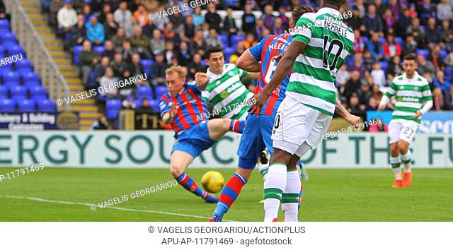 2016 Scottish Premier League Football Inverness CT v Celtic Sep 18th. 18.09.2016. Caledonian Stadium, Inverness, Scotland