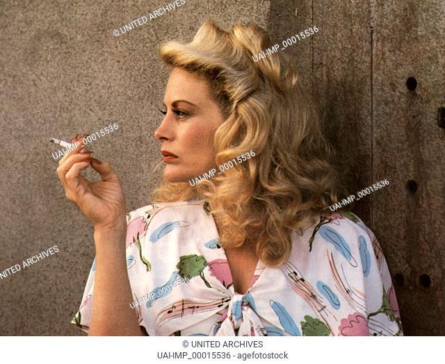 Casanova Junior, (THE WOO WOO KID) USA 1987, Regie: Phil Alden Robinson, BEVERLY D'ANGELO Stichwort: Zigarette
