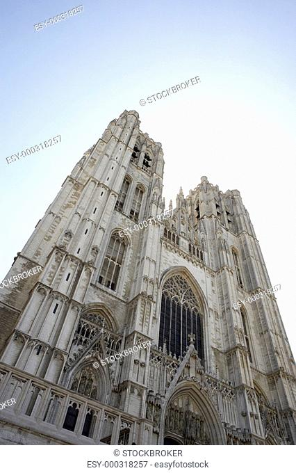 Saint Michael and St Gudula Cathedral in Brussels