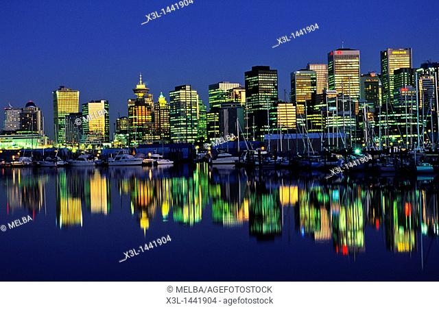 Skyline  Vancouver  Brittish Columbia  Canada
