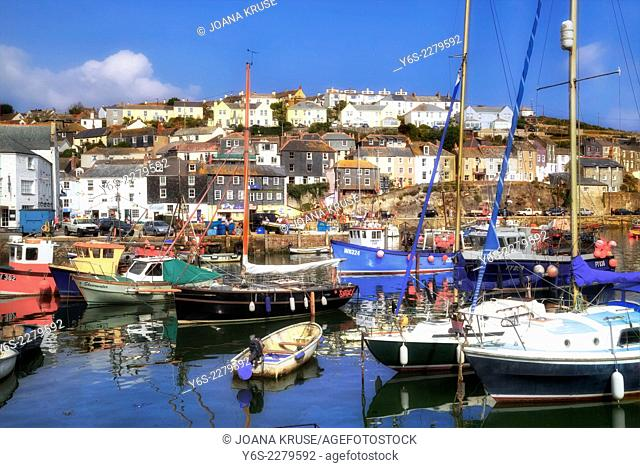Mevagissey, Cornwall, England, United Kingdom