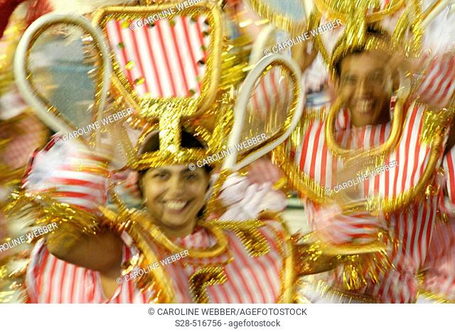 Dancers at Carnival, Rio de Janeiro