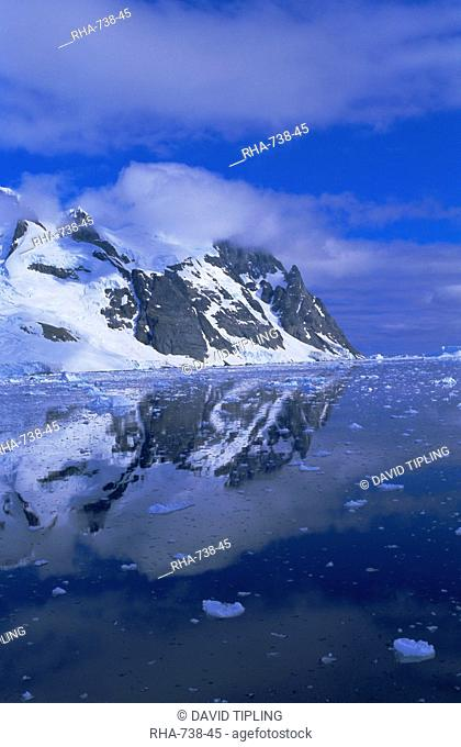 Lemaire Channel in January, Antarctic Peninsula, Antarctica, Polar Regions