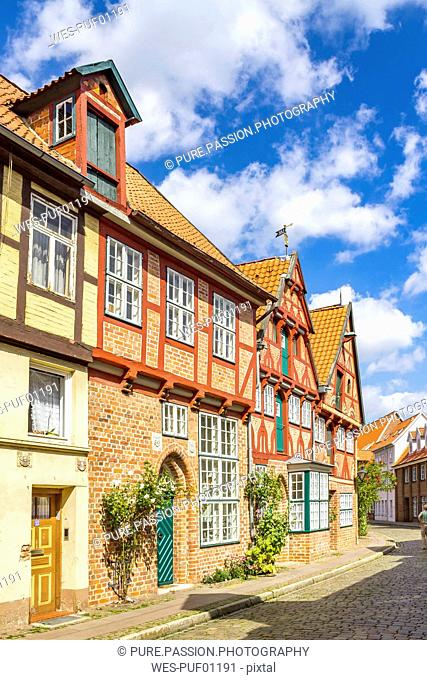 Germany, Lower Saxony, Lueneburg, Old town, alley