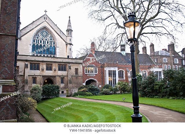 Lincoln's Inn Chapel, London, UK