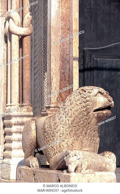 italy, emilia romagna, modena, cathedral
