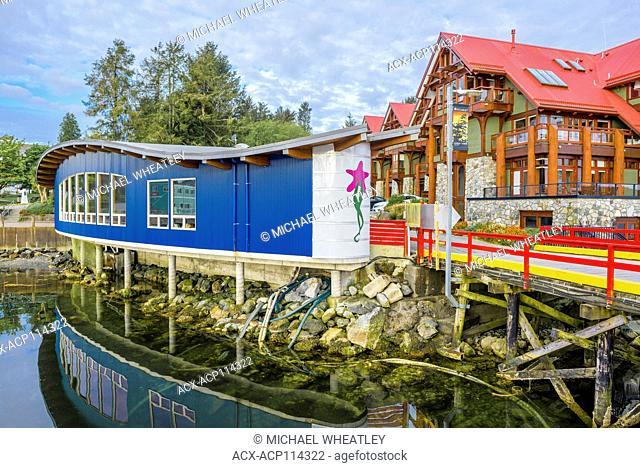 Aquarium, Ucluelet, Vancouver Island, British Columbia, Canada