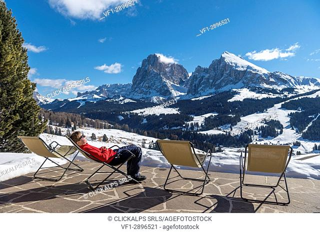 Alpe di Siusi/Seiser Alm, Dolomites, South Tyrol, Italy