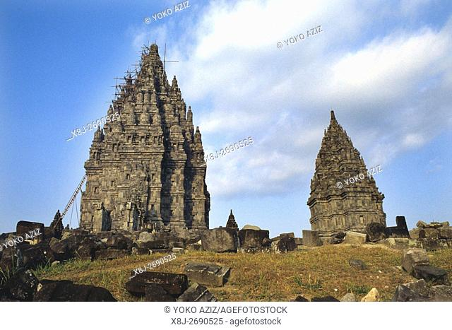 java, indonesia, Architecture of the Prambanan Temple