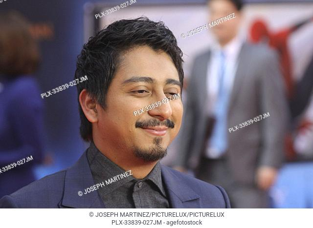 """Tony Revolori at Columbia Pictures' and Marvel Studios' """"""""Spider-Man Far From Home"""""""" World Premiere held at the TCL Chinese Theatre in Hollywood, CA, June 26"""