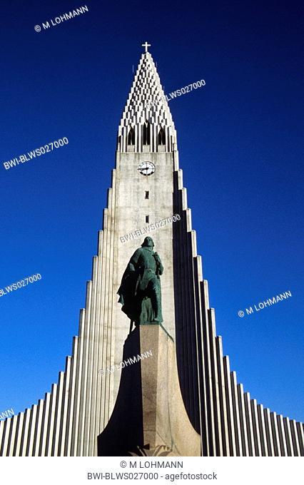 Hallgrimskirkja, Hallgrimur's Church, Iceland, Reykjavik