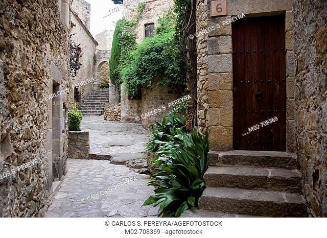 Pals. Costa Brava, Girona province, Catalonia, Spain