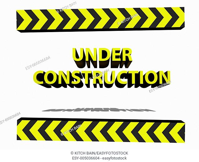 A conceptual maintanence and under construction image
