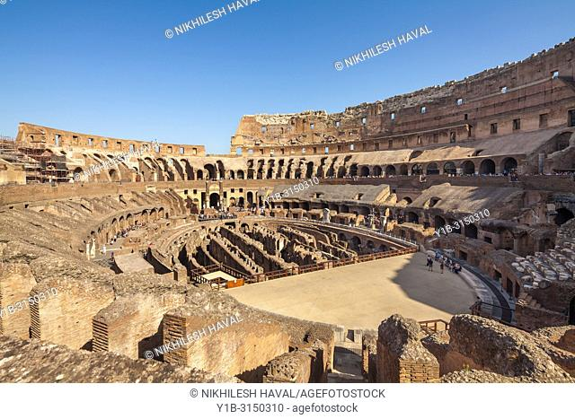 Arena, Colosseum, Rome, Italy
