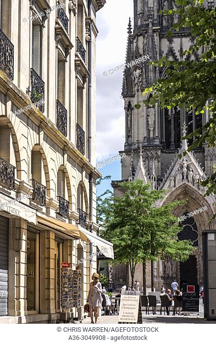 Cathedral Reims Marne Grand Est France