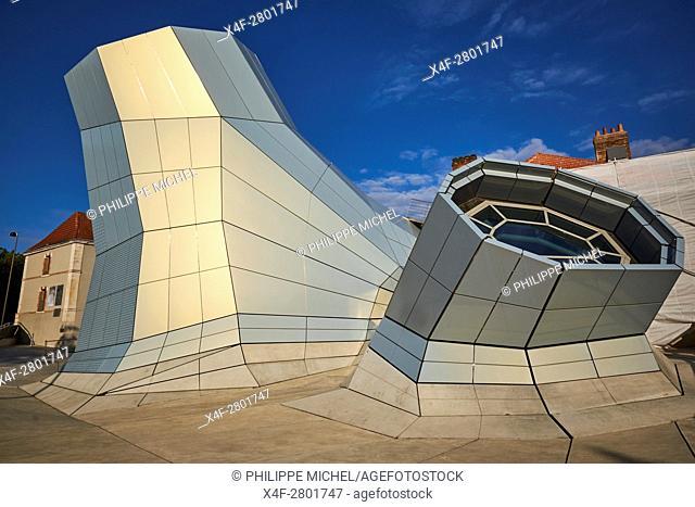 France, Loiret, Orleans, the Turbulences, FRAC Center, architectes, agence Jakob + MacFarlane