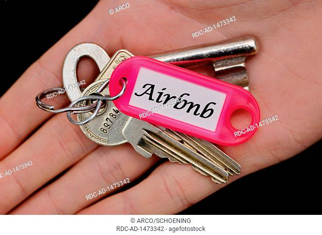 keys for holiday apartment, Airbnb