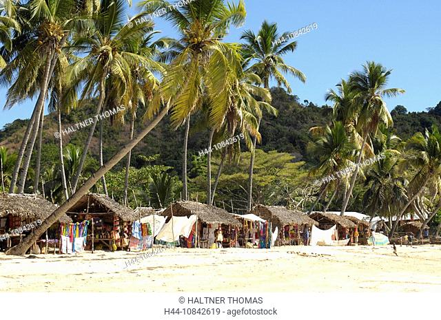Indian Ocean, Madagascar, Nosy Be island, Andilana beach, tourists, local people, tourism, locals, sandy beach, coast
