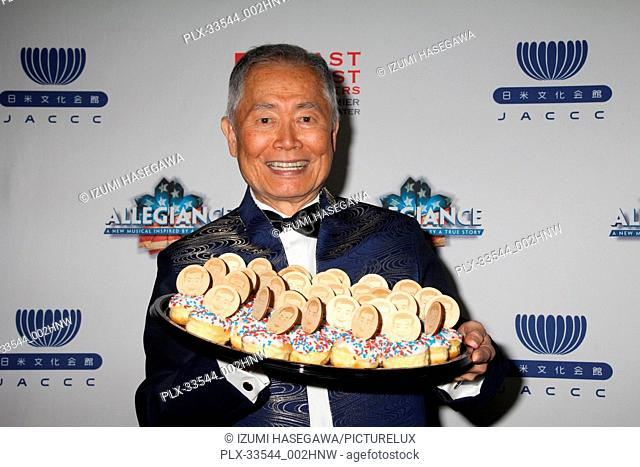 "George Takei 02/28/2018 The Los Angeles premiere of the Broadway musical """"Allegiance"""" After Party held at Japanese American Cultural & Community Center in Los..."