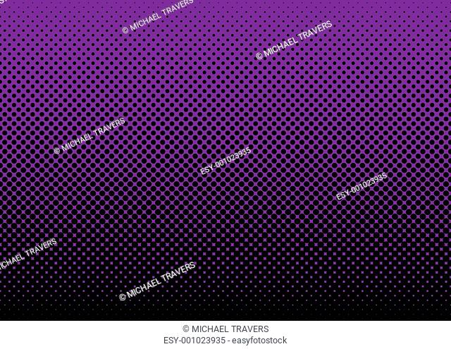 halftone abstract background purple