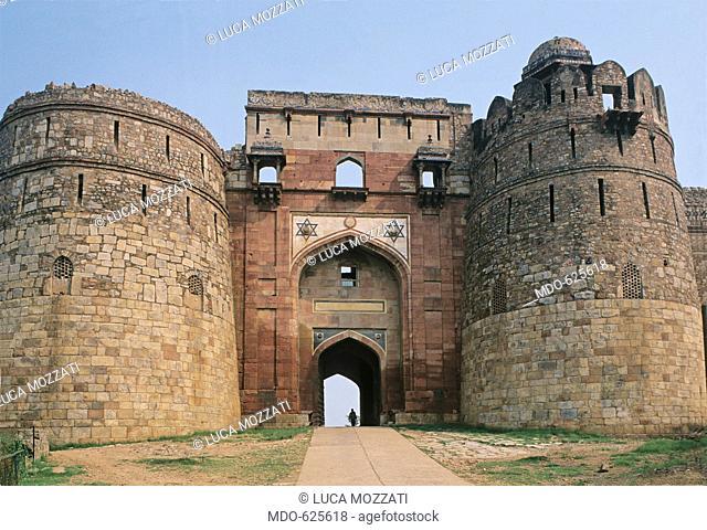 The Citadel of Purana Qila, by Unknown Artist, 1530 - 1556, 16th Century, . India, National Capital Territory of Dehli -NCT, Delhi, Delhi, Purana Qila